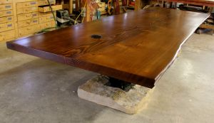 Custom Crafted Live Edge Douglas Fir Conference Table_Phildelphia, PA.jpg