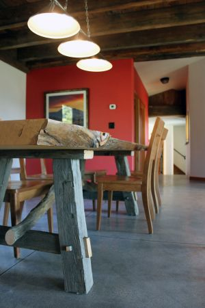 Custom-Crafted-Dining-Table,-Live-Edge-Douglas-Fir-with-Raw-Oak-and-Local-Pine-Branch-Base_Montana.jpg
